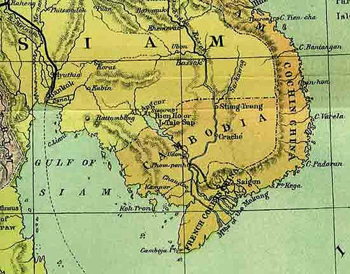 Cambodia Map - Cambodia map