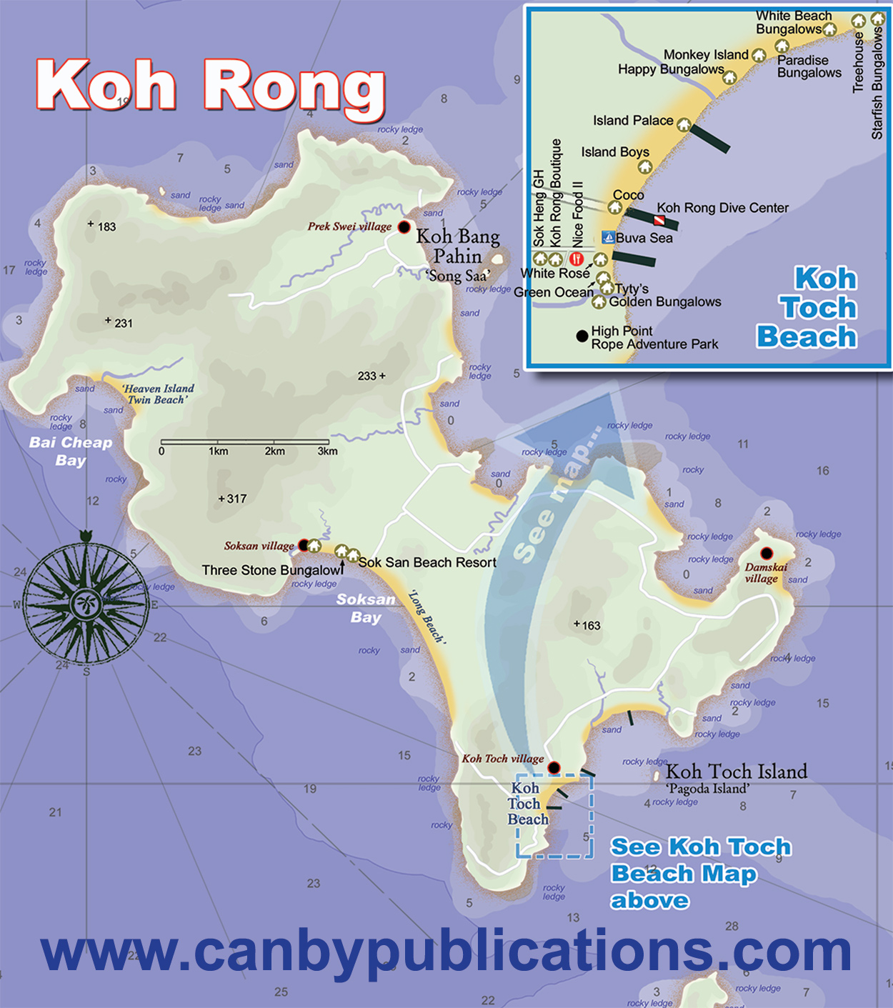 Map Of Long Beach Island Hotels