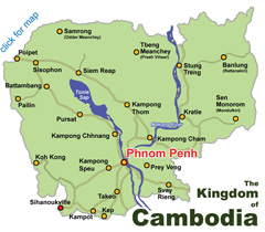 Khmer Rouge Map