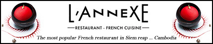 The best places to eat in Siem Reap - l'annexe french restaurant cambodia