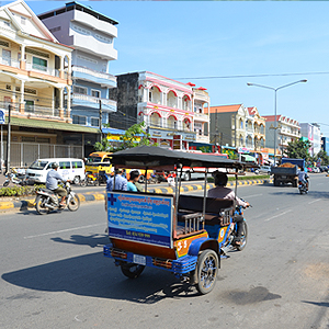 Downtown Sihanoukville