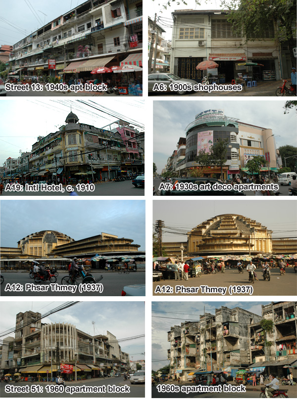 Phnom penh architecture tour cambodia for Architecture khmer